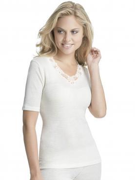 Sangora Woll Damen-Unterhemd 1/2 Arm 7960811, S-XXL 36-54