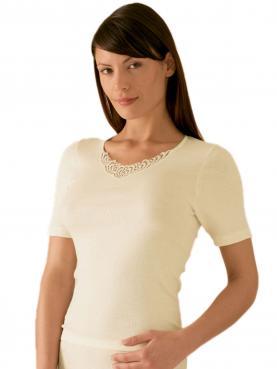 Sangora Angora Damen-Unterhemd 1/2 Arm 8010820, S-XXL 36-54