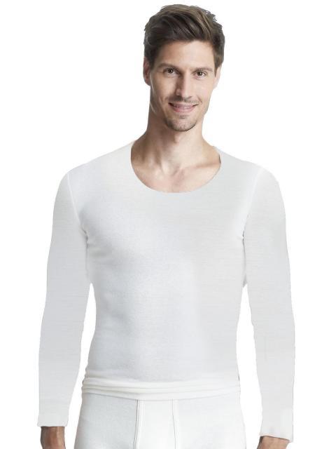 Sangora Angora Herren-Unterhemd 1/1 Arm s8010050, M 5, wollweiß wollweiss | M