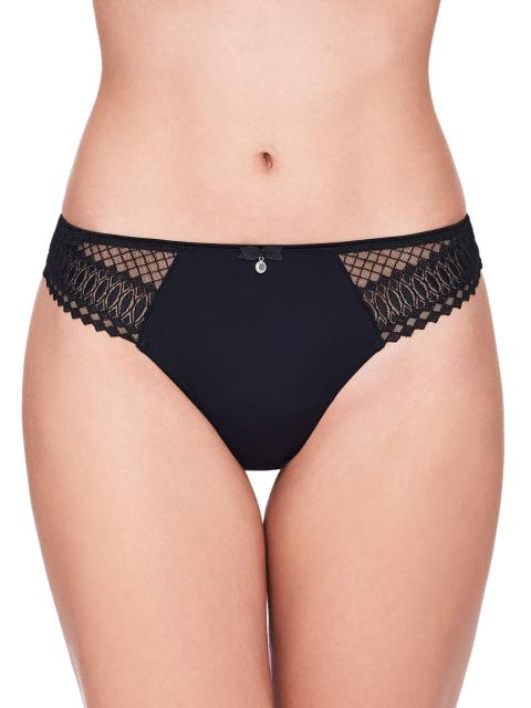 Susa Damen String Santorin 669 Gr. 36 in schwarz schwarz | 36
